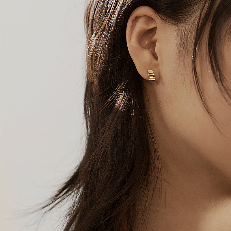 The Sparkling Ripples Earrings