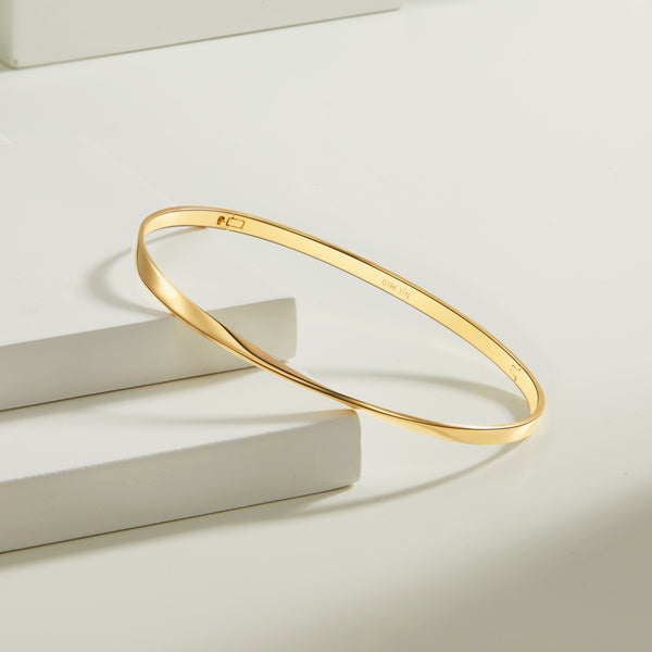 The Mobius Strip Bangle