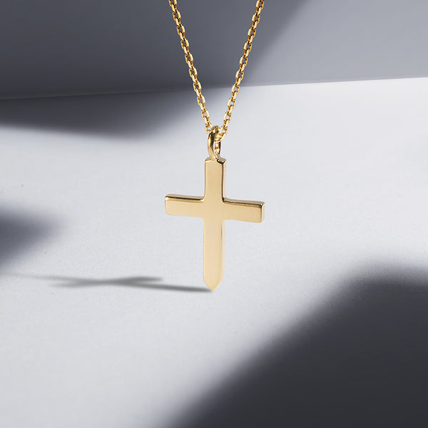 The Amulet Slim Cross Necklace