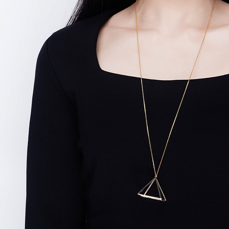 The Pyramid Necklace