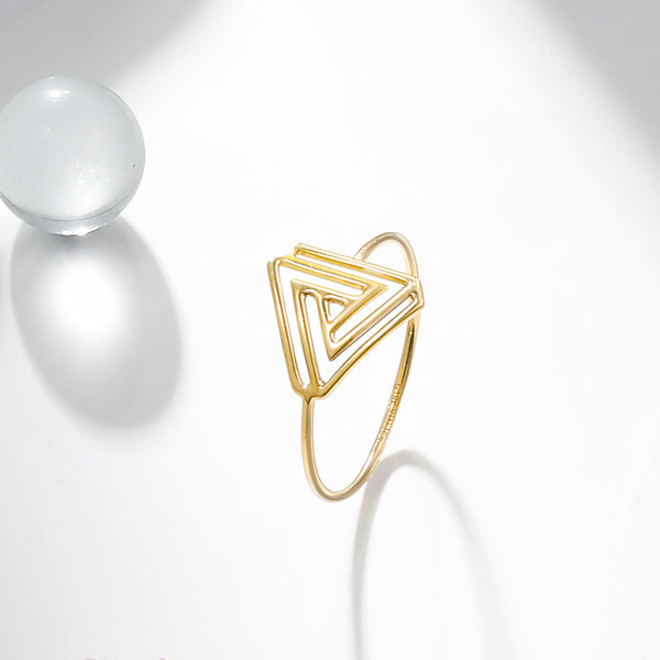 The Penrose Triangle Ring