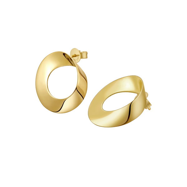 The Mobius Strip Earrings