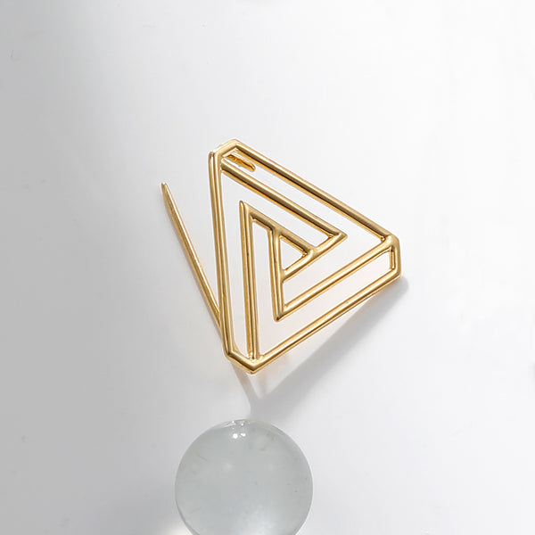 The Penrose Triangle Brooch
