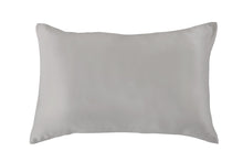 Load image into Gallery viewer, Silk Pillowcase 19mm Steel Single.