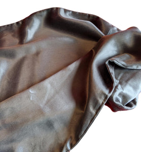 Silk Pillowcase 22mm Charcoal Single.