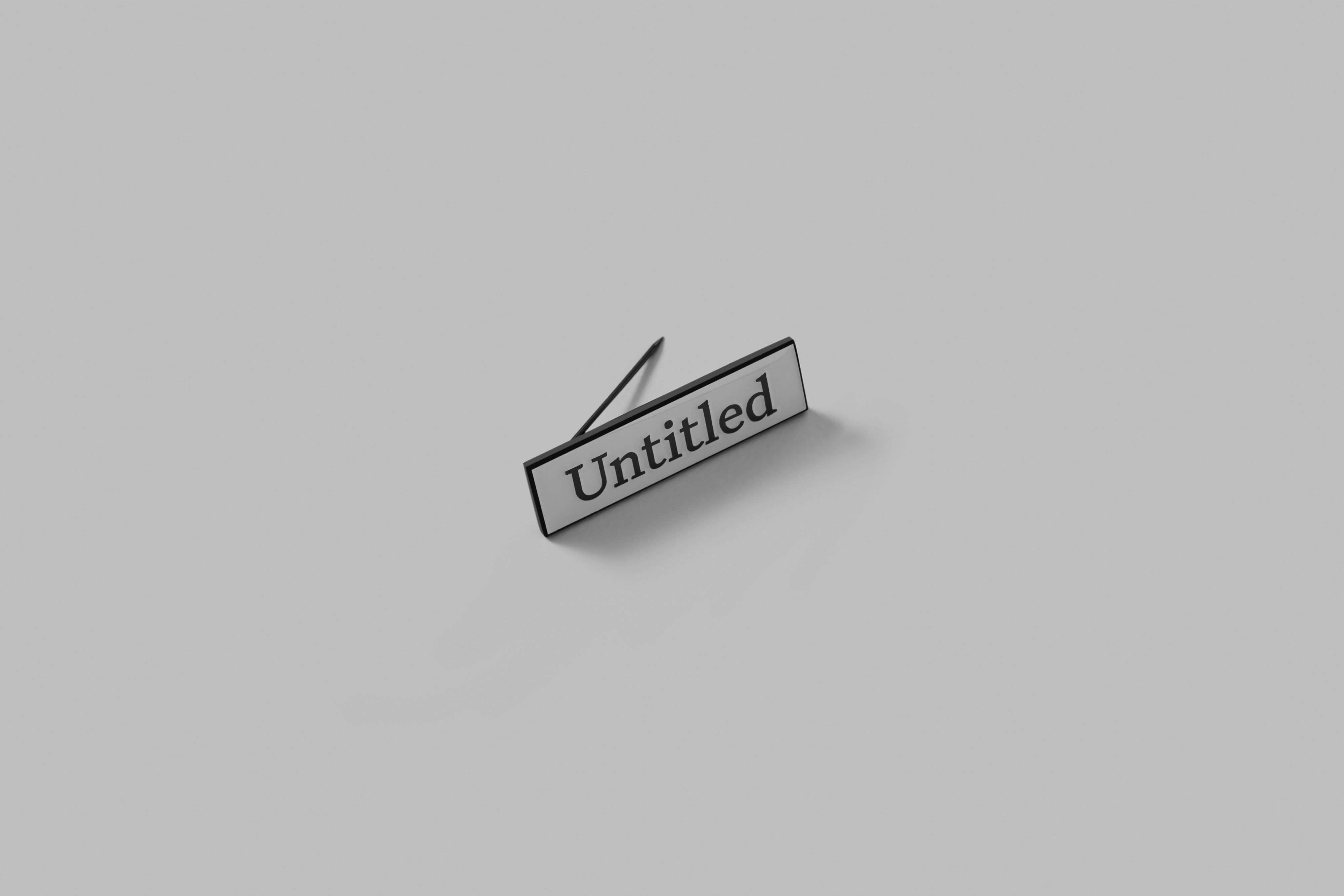 Untitled Serif Badge