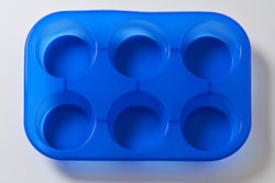 6 Cavity Round Silicone Mould