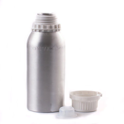 625ml Aluminium Bottle Complete With Plug & Tamper Evident Cap