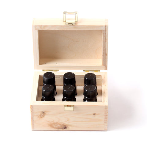 Fragrant Oils Gift Pack in Wooden Box