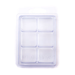 6 Cavity Wax Tart Clamshell Mould