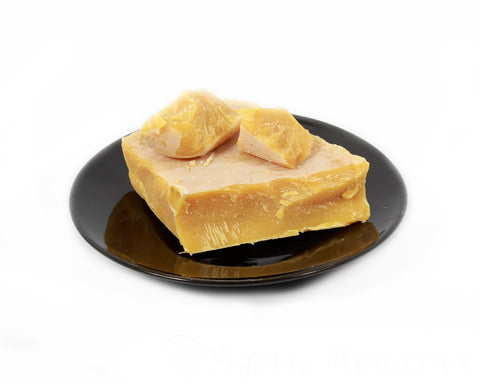 Beeswax Block Purified Yellow (100% Natural) - Cosmetic Waxes