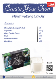 Create Your Own – Mental Wellbeing Candles