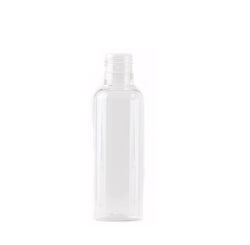 Clear 125ml Tall Boston Round PET Bottle 24/415