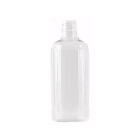 Clear 250ml Boston Round PET Bottle 24/415
