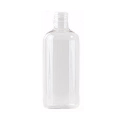 Clear 500ml Boston Round PET Bottle 24/415
