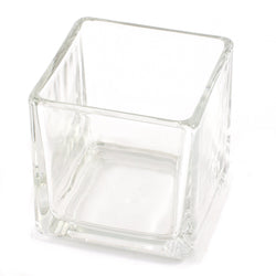 Cube Candle Glass Jar 29cl