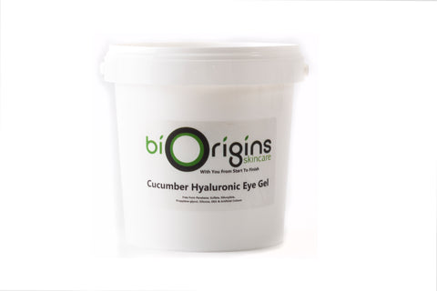 Cucumber Hyaluronic Eye Gel - Botanical Skincare Base