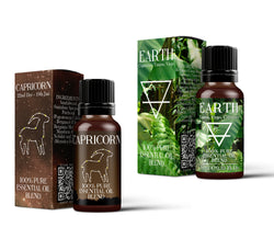 Earth Element & Capricorn Essential Oil Blend Twin Pack (2x10ml)