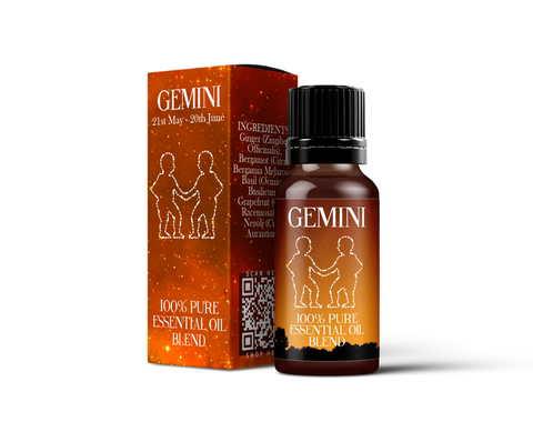 Gemini - Zodiac Sign Astrology Essential Oil Blend