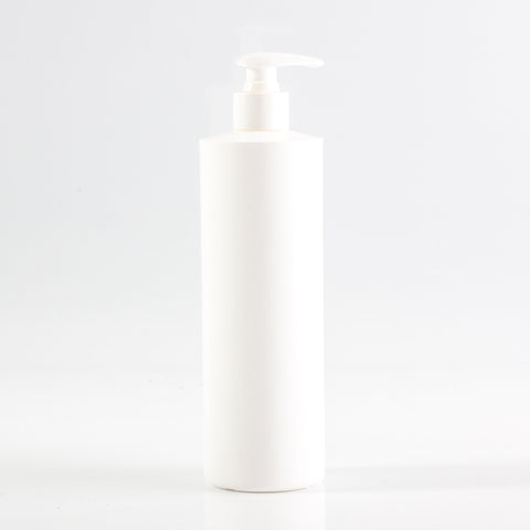 HDPE Tubular Bottle 500ml (24mm Neck) With Lockdown Lotion Pump