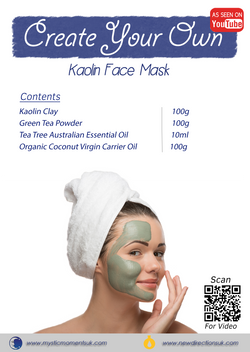Create Your Own – Kaolin Face Mask