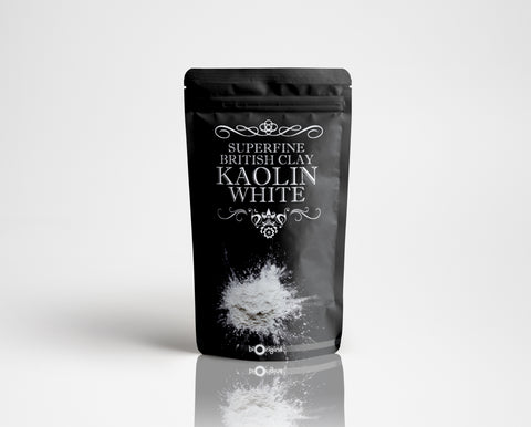 Superfine British Clay - Kaolin White