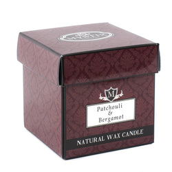 Patchouli & Bergamot Scented Candle - Large