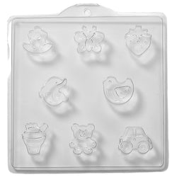 Assorted Children's PVC Mould (4 Cavity)
