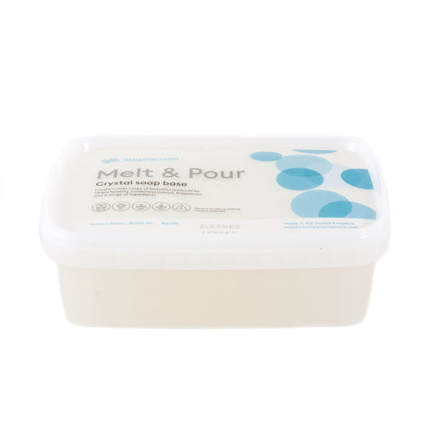 Melt and Pour Soap Base - Clear - SLS FREE