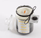 Mystix London Midnight Wooden Wick Scented Jar Candle