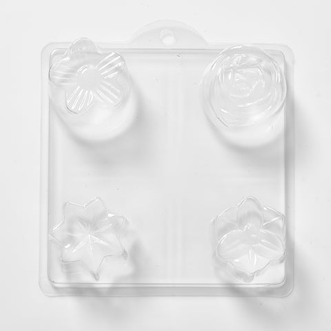 Assorted Shapes 2 PVC Mould (4 Cavity)