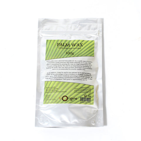 Palm Wax - Cosmetic Waxes