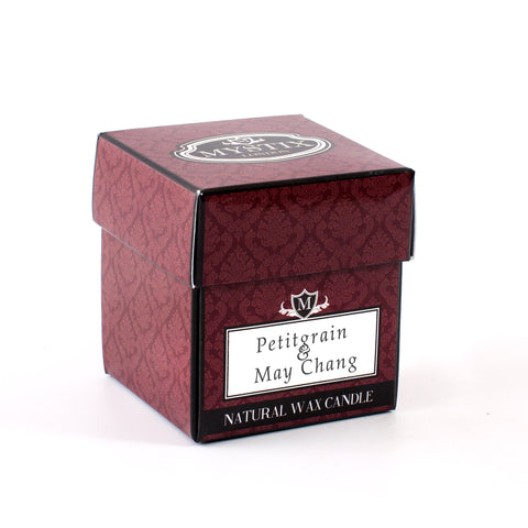Petitgrain & May Chang Scented Candle