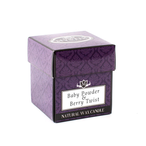 Baby Powder & Berry Twist Scented Candle