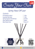 Create Your Own – Spring Reed Diffuser