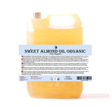 Almond Sweet Virgin Organic Carrier Oil