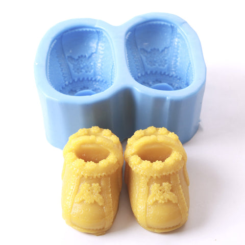 Baby Booties Silicone Mould