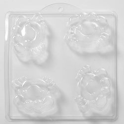 Cartoon Crab PVC Mould (4 Cavity)
