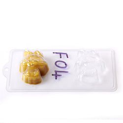 Cartoon Rabbit PVC Mould (4 Cavity)