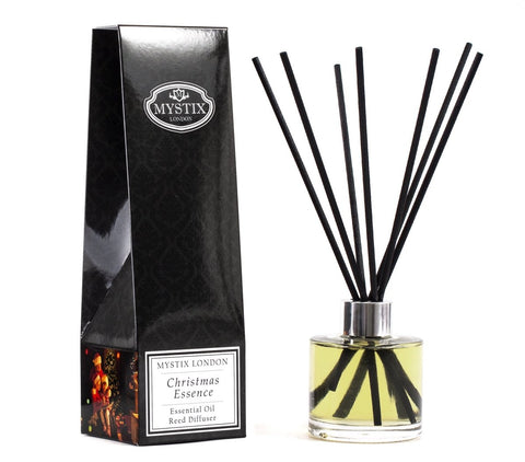 Christmas Essence - Essential Oil Reed Diffuser - Mystic Moments UK