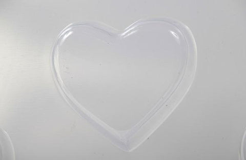 Chunky Heart PVC Mould (8 Cavity)