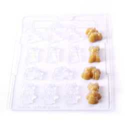 Rabbits PVC Mould (15 cavity)