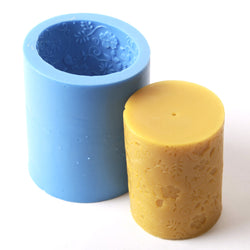 Flocked Cylinder Silicone Mould