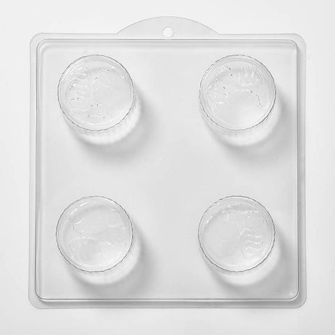 Flowers In Circle PVC Mould (4 Cavity)