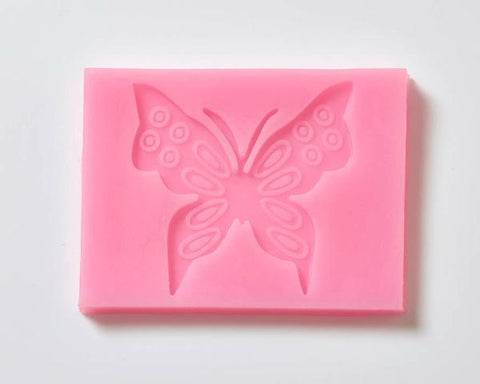 Fondant Icing Cake Decorating Silicone Butterfly Mould
