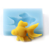 Fondant Icing Cake Decorating Silicone Fish Shape Mould
