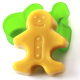 Gingerbread Man Silicone Soap Mould