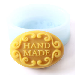 Hand Made In Oval Silicone Mould