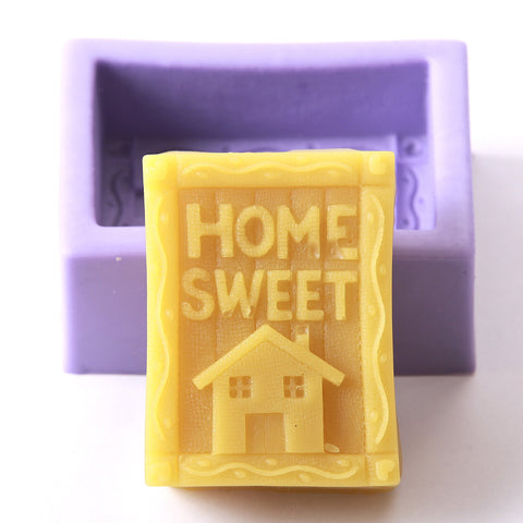 Home Sweet Home Silicone Mould