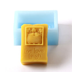 Live Love Laugh Silicone Mould